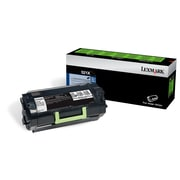 Lexmark 521X Black Return Program Toner Cartridge, Extra High Yield (52D1X00)