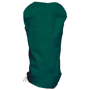 NuVue Green Synthetic Shrub Cover Bag with Tapered Fit, 36