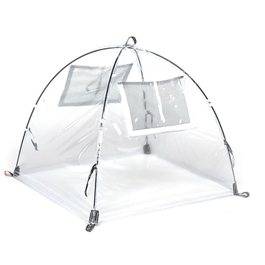 NuVue Clear PVC-Framed Summer Greenhouse, 28