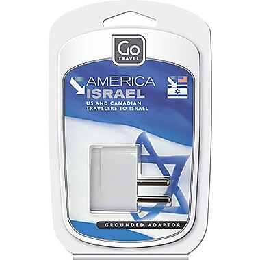 Go Travel North & South America to Israel Grounded Adapter