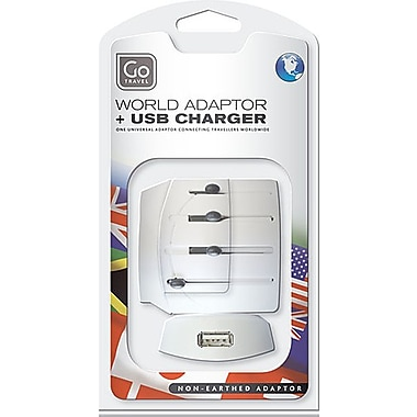 Go Travel Worldwide Polarized Adapter with USB