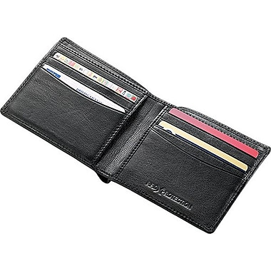 Go Travel RFID Blocking Leather Wallet, Black