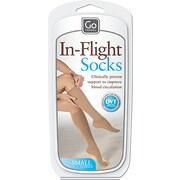 Go Travel Flight Compression Socks, Small, Nude