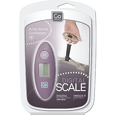 Go Travel Digital Scale, Taupe