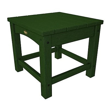 Trex Rockport Club Side Table; Rainforest Canopy