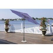 LB International 9' Market Umbrella; Purple