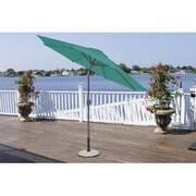 LB International 9' Market Umbrella; Teal