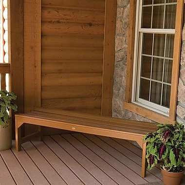 Buyers Choice Phat Tommy Metal Wood Kepner Picnic Bench; Toffee