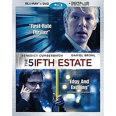 The Fifth Estate (Blu-ray/DVD)