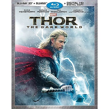 Thor: The Dark World 3D Blu-ray/Blu-ray/DVD