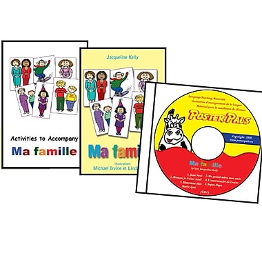 French - Ma Famille Book/CD Set