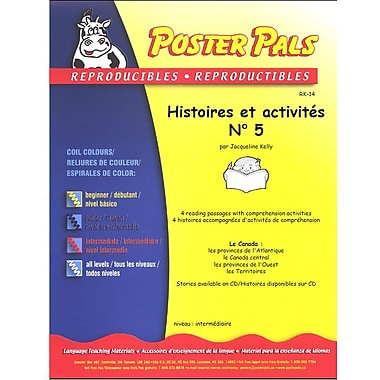 French Reproducible Teaching Activities for the FSL Classroom -histoires et activités No. 5