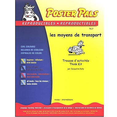 French Reproducible Teaching Activities for the FSL Classroom -les moyens de transport