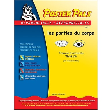 French Reproducible Teaching Activities for the FSL Classroom -les parties du corps