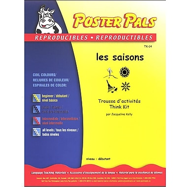 French Reproducible Teaching Activities for the FSL Classroom -les saisons