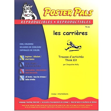 French Reproducible Teaching Activities for the FSL Classroom -les carrières