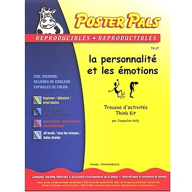 French Reproducible Teaching Activities for the FSL Classroom -ma personnalité