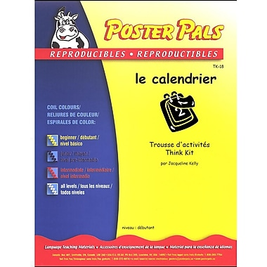 French Reproducible Teaching Activities for the FSL Classroom -le calendrier