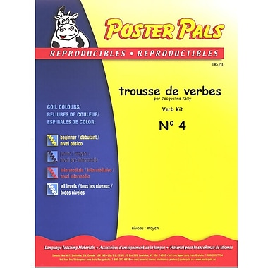 French Reproducible Teaching Activities for the FSL Classroom - trousse de verbes no.4