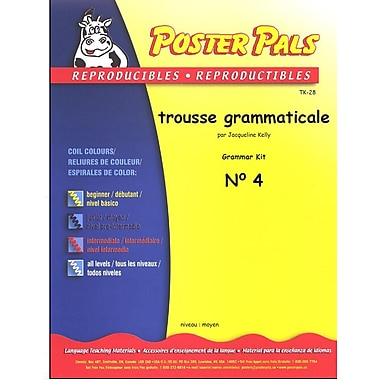 French Reproducible Teaching Activities for the FSL Classroom - trousse grammaticale no.4