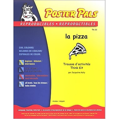 French Reproducible Teaching Activities for the FSL Classroom -la pizza