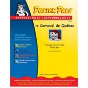 Poster Pals - Activités d'apprentissage reproductibles pour classe de français langue seconde (FLS), le Carnaval de Québec