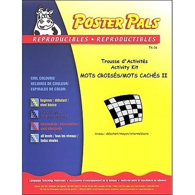 French Reproducible Teaching Activities for the FSL Classroom - trousse de Mots Croisés/Mots Cachés 2