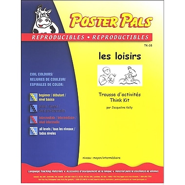 French Reproducible Teaching Activities for the FSL Classroom -Les loisirs