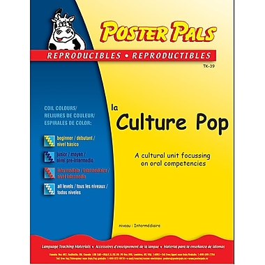 French Reproducible Teaching Activities for the FSL Classroom -Culture Pop
