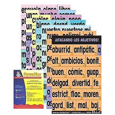 Ensemble de cartes « À l'attaque des adjectifs » en espagnol