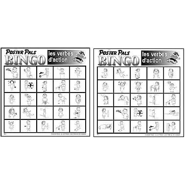 Bingo en français – Verbes d'action