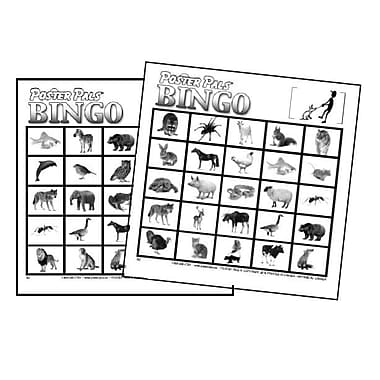 French Bingo - Animals