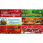 French Special Occasions Poster Set