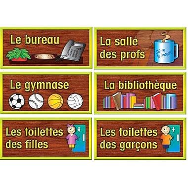 Ensemble d'affiches en français pour salle d'école (paq./6)
