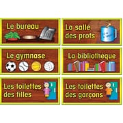 French School Room Sign Set  (6 pk)