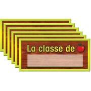 Ensemble d'affiches en français pour salle d'enseignants (6/pqt)