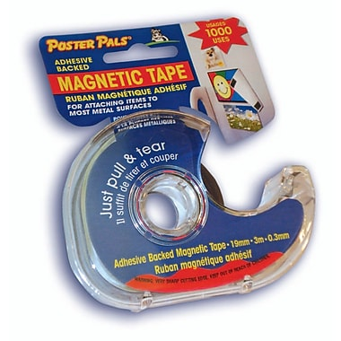 Magnetic Tape, 2/Pack