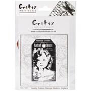 Crafty Individuals 50 mm x 87 mm Unmounted Rubber Stamp, Imagine Child