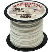 Pepperell 100' 95 Parachute Cord, White