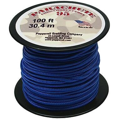 Pepperell 100' 95 Parachute Cord, Royal