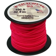 Pepperell 100' 95 Parachute Cord, Neon Pink