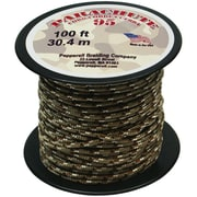 Pepperell 100' 95 Parachute Cord, Desert Camouflage