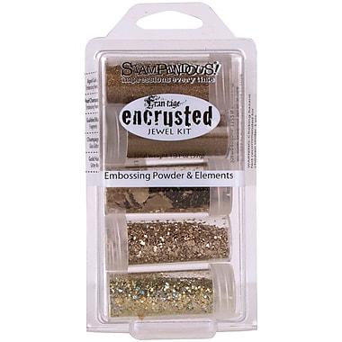 Stampendous® 5/Pack Encrusted Jewel Kit