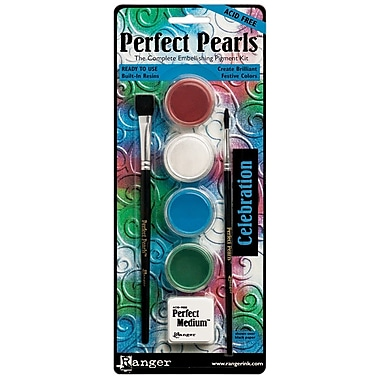 Ranger Perfect Pearls Non-toxic Pigment Powder Kit (PPP-KIT-36791)