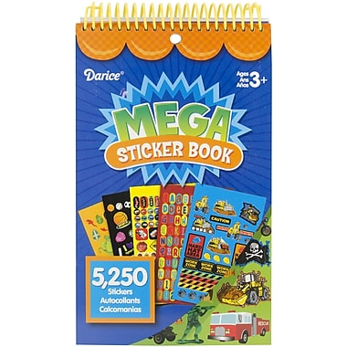 Darice® Mega Sticker Book, 9 1/2