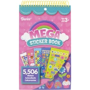 "Darice® Mega Sticker Book, 9 1/2"" x 6"", Girl"