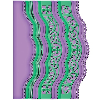 Spellbinders® Borderabilities® Card Creator Die, Scalloped Borders 2