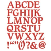 "Spellbinders® Shapeabilities® 11 1/4"" x 5 1/4"" Die, Font One Uppercase"