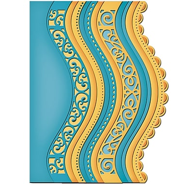 Spellbinders® Borderabilities® Card Creator Die, Curved Borders 2