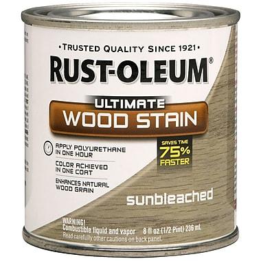 Rust-Oleum® Ultimate Wood Stain, Sunbleached, Half Pint, 8 oz.